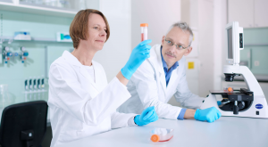 trenzyme's highly qualified scientific experts in the lab