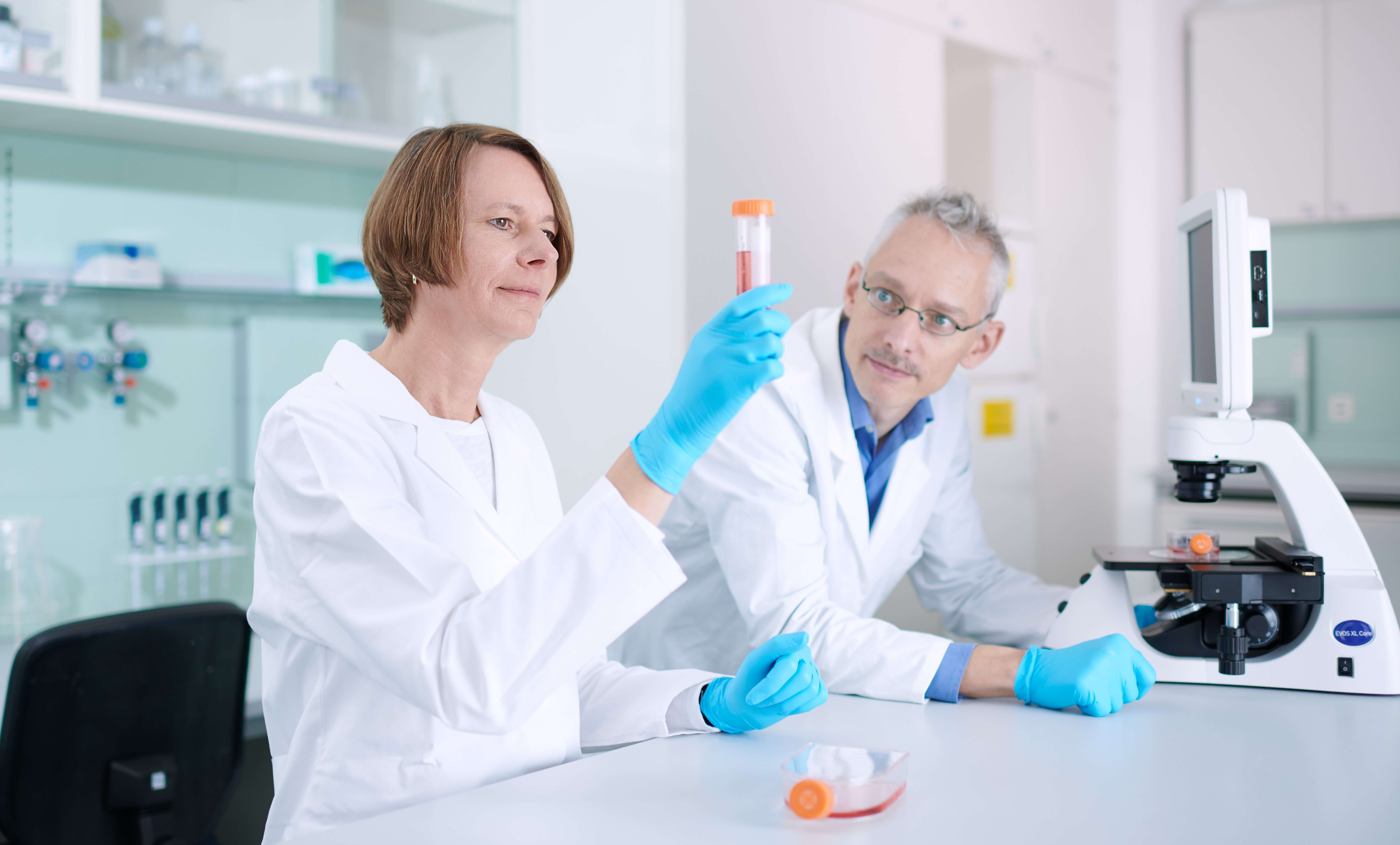 trenzyme's reliable and experienced scientific experts in the lab