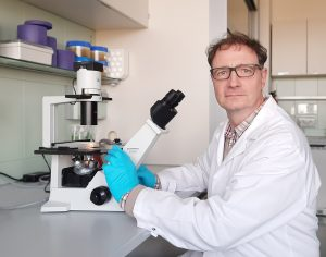 Owner & Managing Director & CSO of trenzyme in the lab